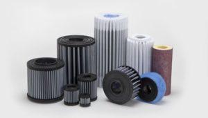 Radial Fin Air Intake Filter